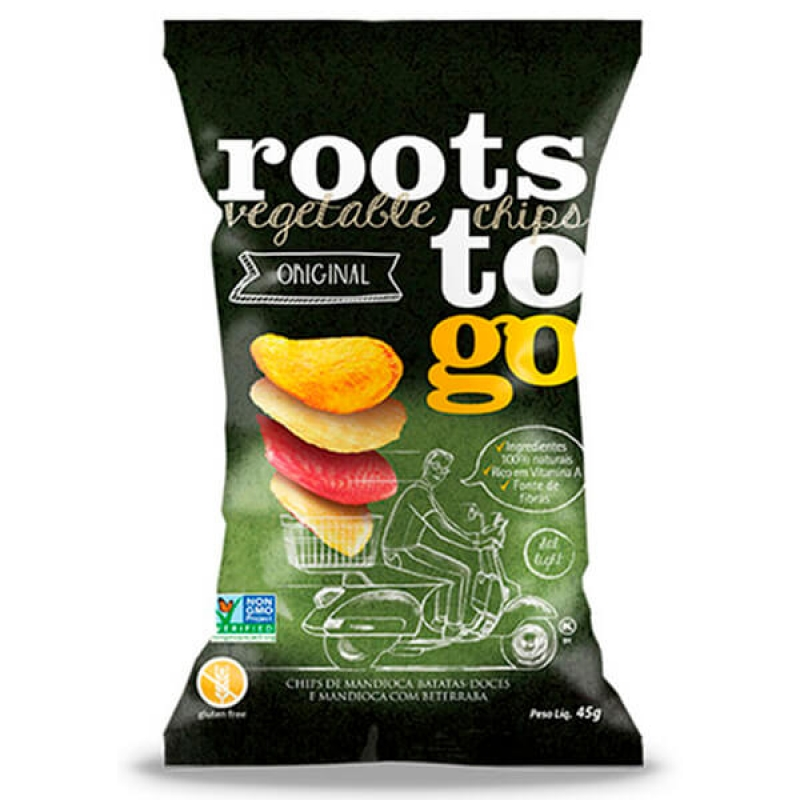 imagem Chips Original 45g Roots to Go